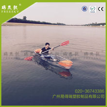 Plastic Kayak Clear Boat Polycarbonate Transparent Kayak Beach Boat