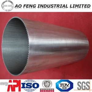 Wedge wire screen/johnson screen/v wire wrap screen pipe