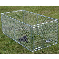 China anping pet product metal dog cage dog kennel/ portable dog kennel/ heavy duty dog kennel
