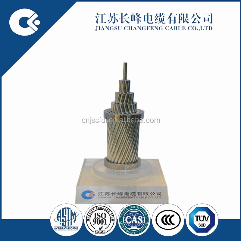 ASTM IEC standard aaac conductor galvanized aluminium alloy wire cable