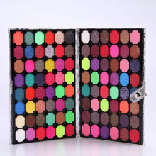Popular! Factory Price 96 Color Makeup Eyeshadow Palette with Leather Case