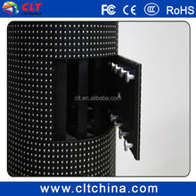 full color led soft curved display panel rgb led module/indoor p6 led video china flexible led screen