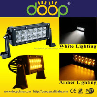China Alibaba Wholesale Off Road Light Bar IP67 Outdoor Lighting 36W Amber/White 12Volt Strobe Light