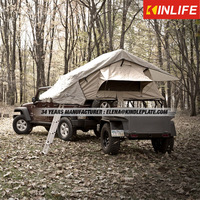 factory Travel Trailer Use new folding hard floor camping trailer