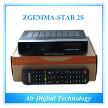 decoder tv box Zgemma-Star 2S satellite receiver HD DVB S DVB S2 twin tuner satellite decoder no dish FTA with IPTV