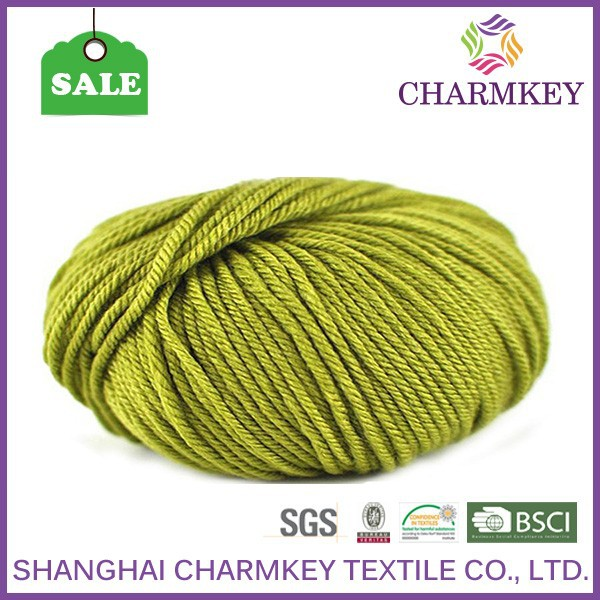 shanghai super chunky wool yarn vivid spring color in china for sweater