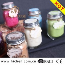 High Quality scented soy wax candle making custom printed prayer candle wholesale