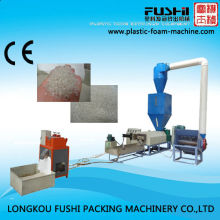 2014 waste Ps film plastic recycling machine