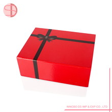 Factory red surprise wedding favor cosmetic paper box
