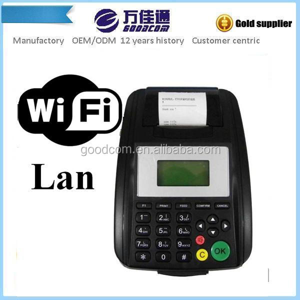 Linux LAN&WIFI Wireless Thermal Receipt Printer For Automatically printing restaurant email order from Gmail, Yahoo, Hotmail etc