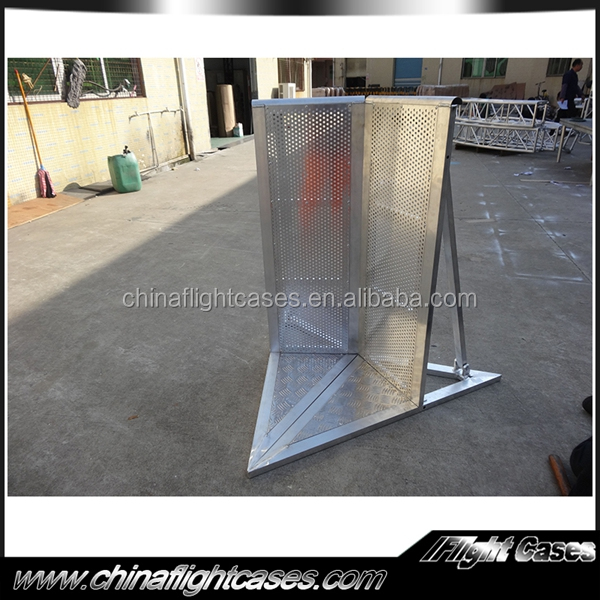 Stage concert aluminium crowd barrier metal crash barriers