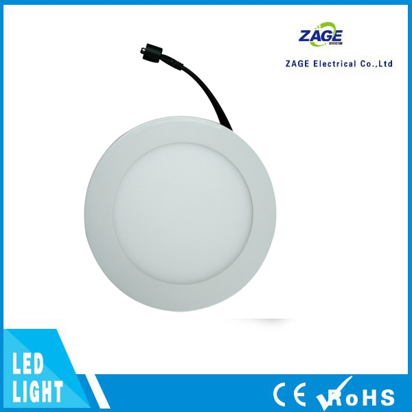 Ultra Thin Round LED Panel Light 12W Recessed Down Light