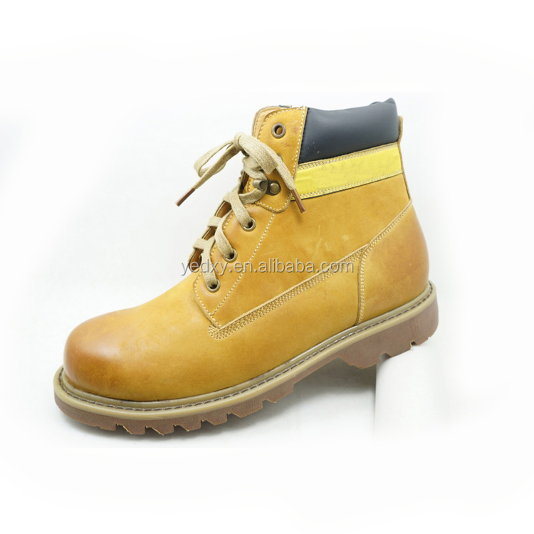 classical boot design high quality citi trends men leather boots