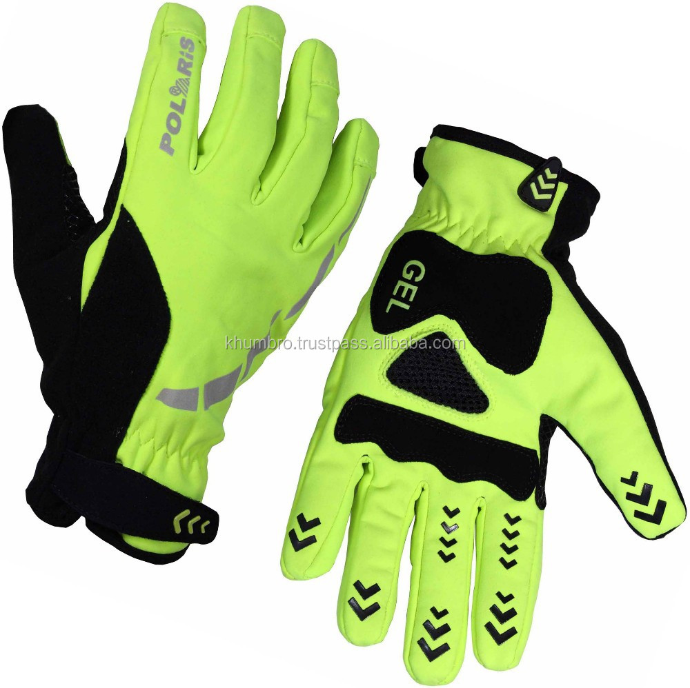 waterproof wind proof Full Finger cycle gloves