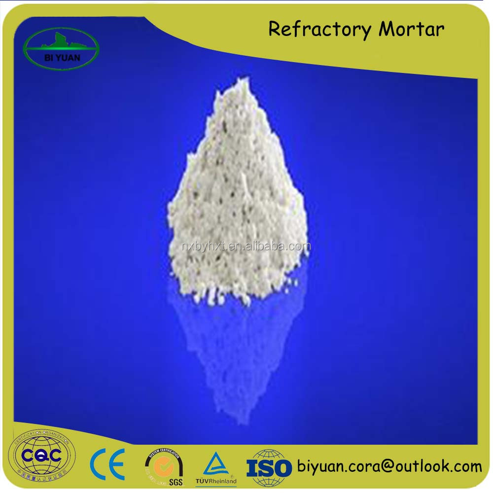 Fireclay refractory mortar made in china