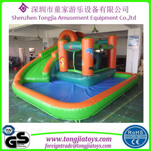 inflatable commercial water park inflatable water slide with pool inflatable water playground