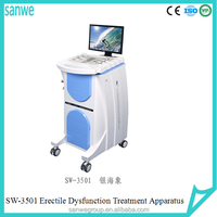 Silver Warlus Male Sexual Dysfunction Treatment Machine// Premature Ejaculation// ED Therapy Instrument