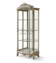 Salon Display Glass Cabinet