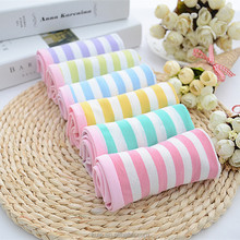 Women's Organic Cotton Underwear Stripe Panties Wide Color Chart high quality