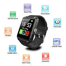 Hot Sale High Quality U8 android smart watch tablet screen mobile watch phones