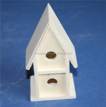 Wholesale handmade small gift wooden bird house made in China