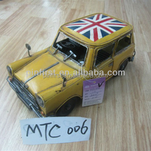 Car's History High Quality 2014 Novelty classical antique Iron metal car model