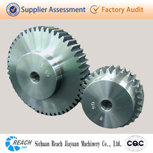 High precision stainless steel spur gear