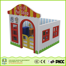 Cheap Goods From China Pet Shop Model Playground Children Games Wooden Garden Play House