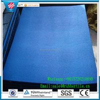 Outdoor Playground Rubber Backing Commercial Carpet Floor Tiles,Gym Rubber Tile,Driveway Rubber Interlocking