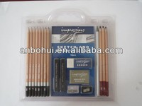 Good quality Sketch and drawing set with eraser, sharpener