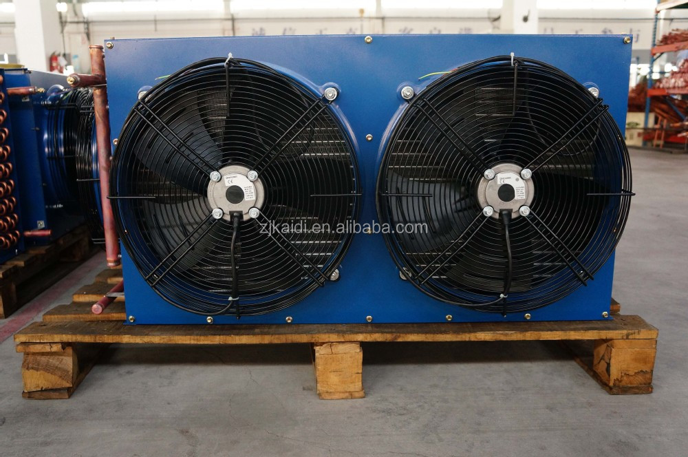 H Fin Type Copper Tube Air Cooled Condenser For Cold Room