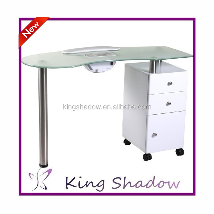 Beautiful vented manicure tables wholesale buy vented for Long manicure table