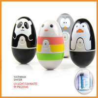 Creative Cute UV Light Toothbrush Sterilizer Sanitizer and Holder