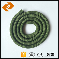 Colored Nylon Flat Double Braided Boating Rope