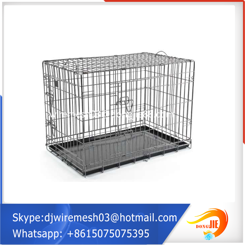 PVC commercial dog cage supplier