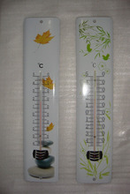 Indoor Outdoor/Garden Paint Metal Mercury Free Thermometer