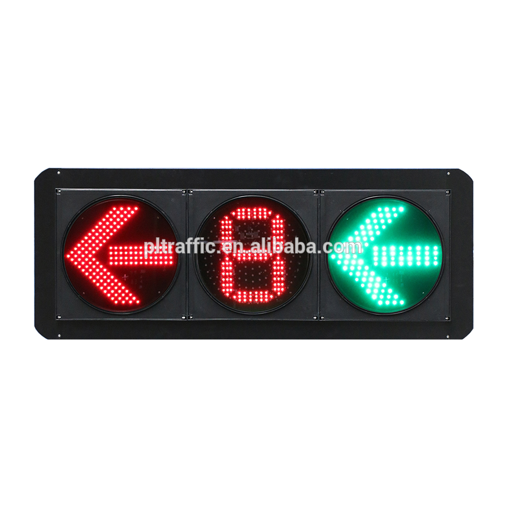 New style led pedestrian light traffic round lamps happy light lamp
