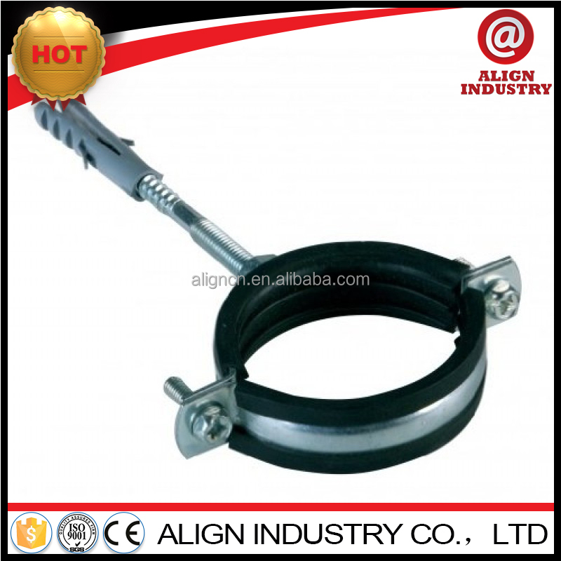 Multifunctional Split 1/4 to 10 inch pipe clamps with Rubber Lined