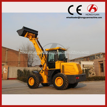 2016 telescopic forklift loader/telescopic boom loader with 24.5kw Kubota