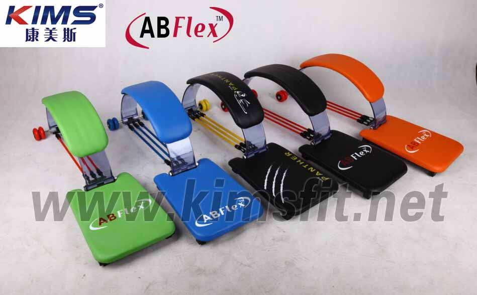 Colorful abdominal fitness machine as seen on TV KIMS AB Flex(KMS003AB)