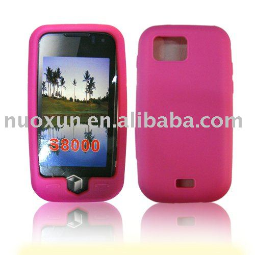 For mobile phone Samsung S8000 TPU Case