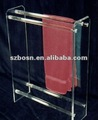 Acrylic Towel Display,Acrylic Towel Holder,Acrylic Towel Stand