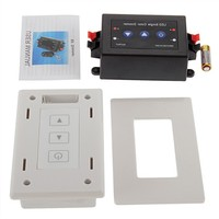 Wireless RF Dimmer LED Single Color Touch Wall Dimmer Switch One Way LED Dimmer 12V - 24V