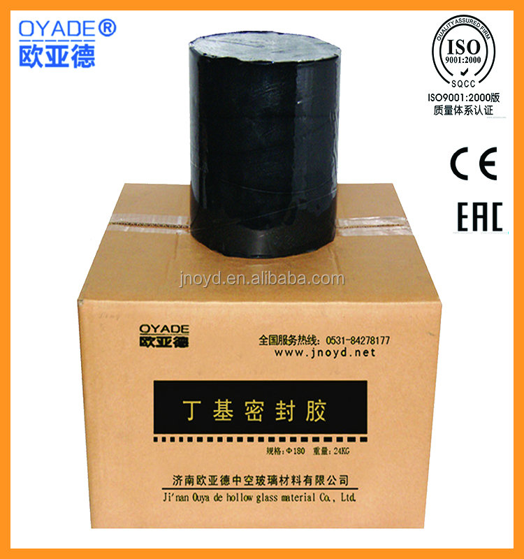 factory manufacture butyl silicone sealant for insulating glass Based