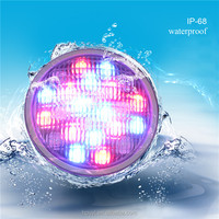 High power par56 RGB remote control dmx ip68 12vpar56 RGB remote control dmx ip68 12v led swiming pool light
