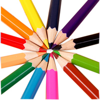 Promotional Colored Wooden Drawing Pencils