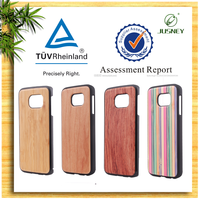 New comming for celulares samsung s6 wood case from China factory
