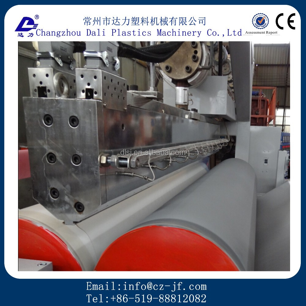 Best selling plastic film embossing machine with Long Service Life