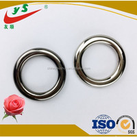 Glossy fancy metal hole reinforcing ring for homeware