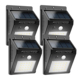 Crazy Hot Selling LED Motion Sensor Waterproof Outdoor Solar Wall Light
